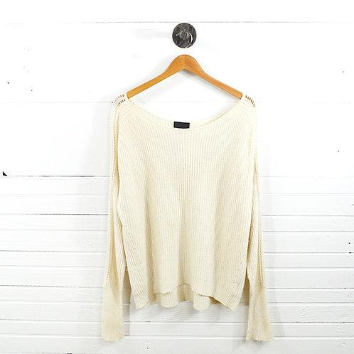 Intermix Knit Sweater #159-23