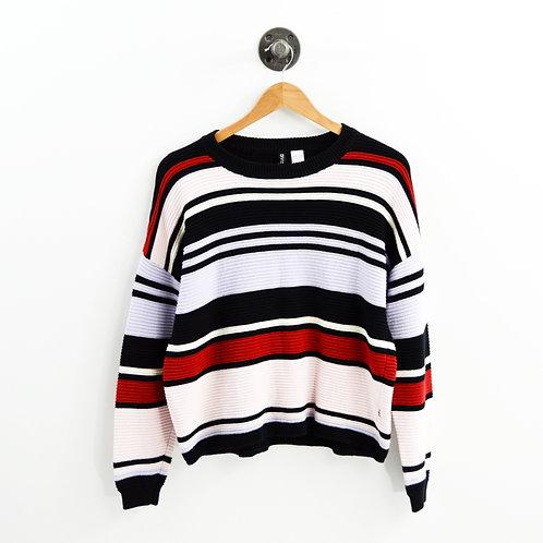 H&M Divided Stripe Sweater #177-1850