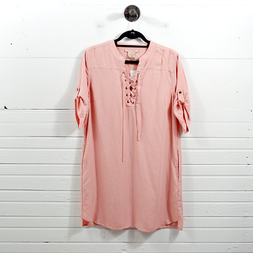 Philosophy Republic Clothing Lace up Relaxed Dress #175-1773