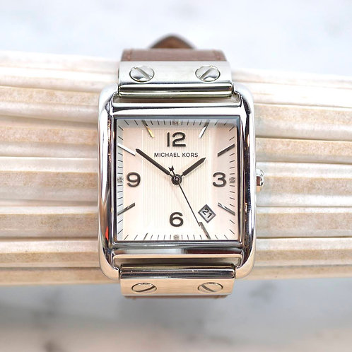 Michael Kors Leather Wrist Watch #164-17
