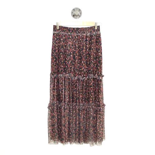 Nina Floral Midi Skirt #172-8