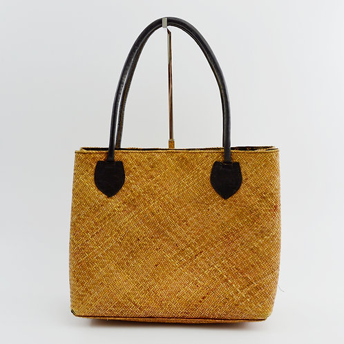 Woven Straw Tote Bag #170-3060