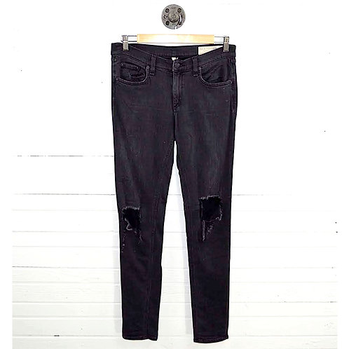 Rag & Bone/ Jean Distressed Skinny Jeans #177-112