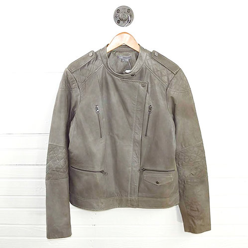 Vince. Leather Jacket #131-143