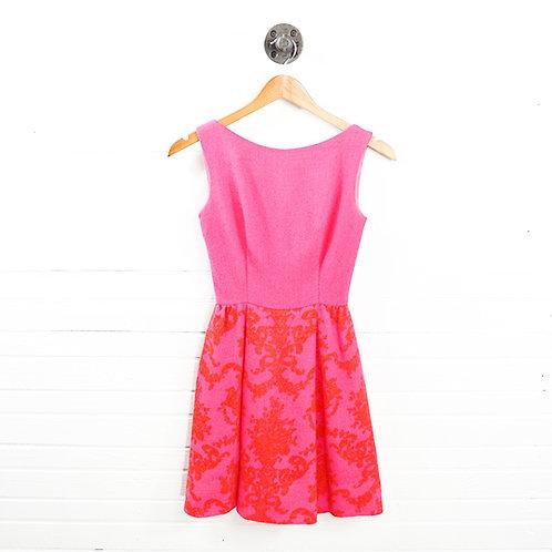 Lang Print Wool Dress #147-17