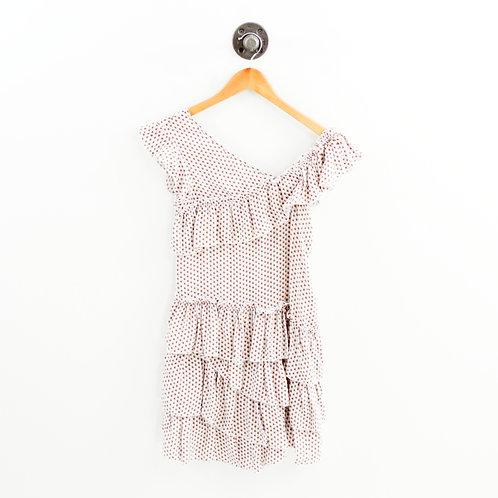 SIR Silk Print Dress #192-49