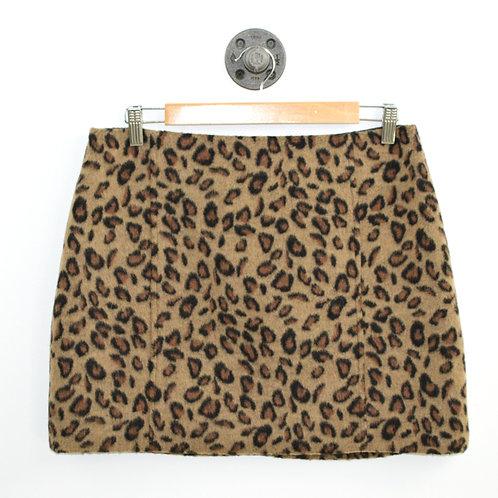 Topshop Leopard Mini Skirt #177-1840