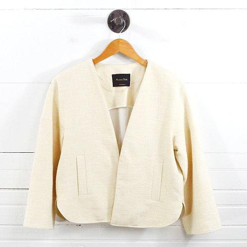 Massimo Dutti Tweed Blazer #129-16