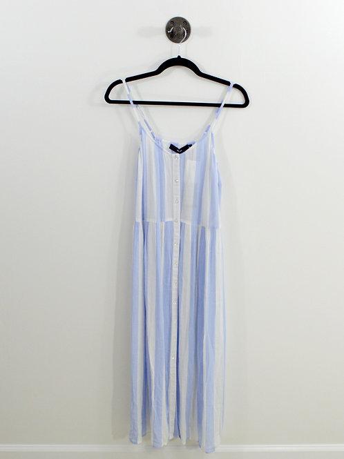 Vera Moda Striped Midi Dress #123-3000