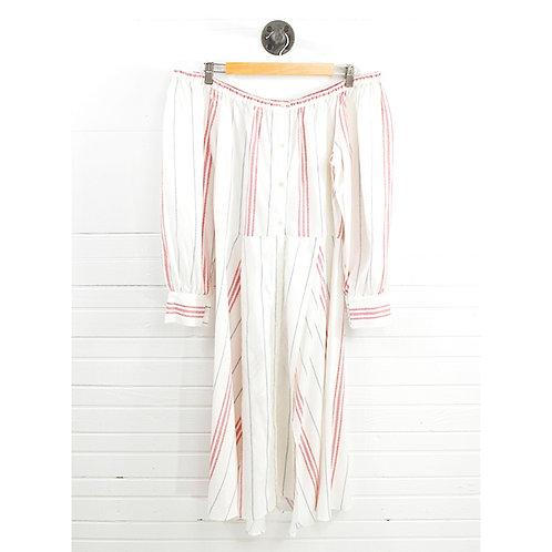 Elle Sasson Shoulder Midi Dress #131-216