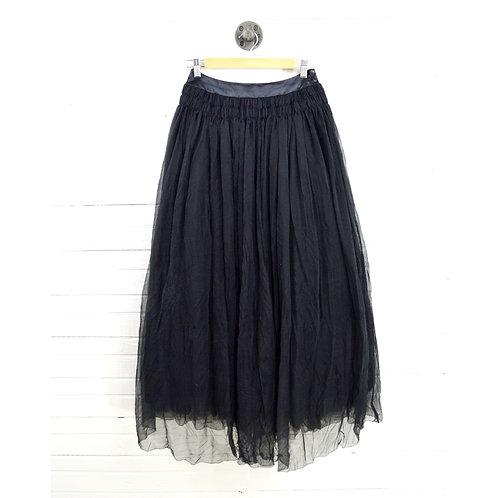 Chanel Silk A-Line Skirt #171-1