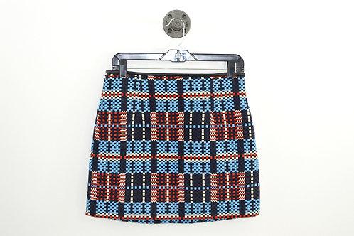 Zara Woven Mini Skirt #182-3085