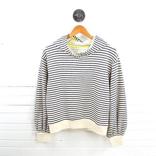 Lou & Grey Striped Hoodie #123-1014