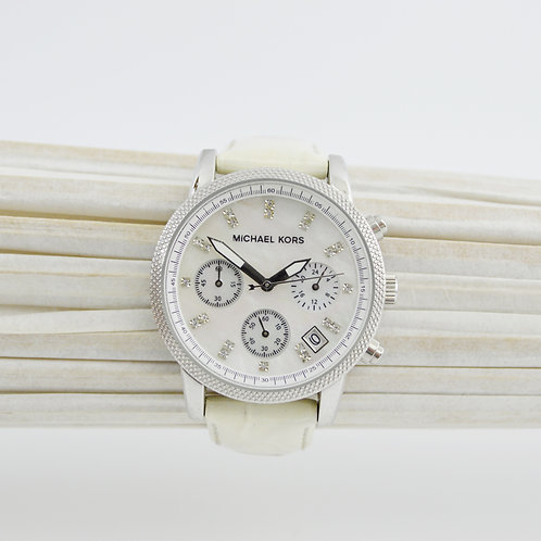 Michael Kors Embossed Leather Watch #123-328