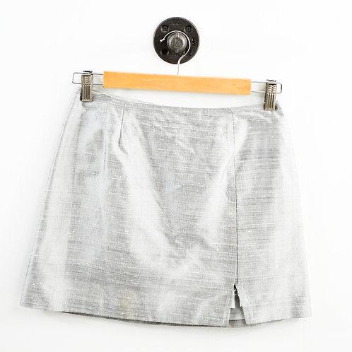 MW 90s Vintage Silk Mini Skirt #195-18