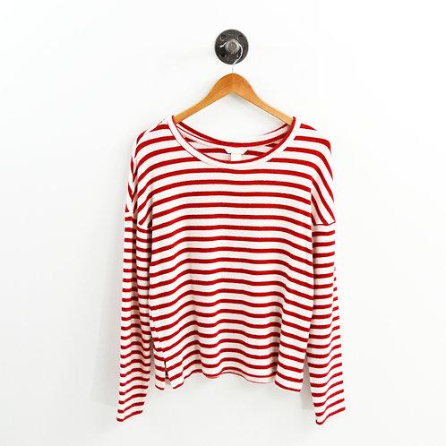 H&M Striped Pullover Top #177-1853