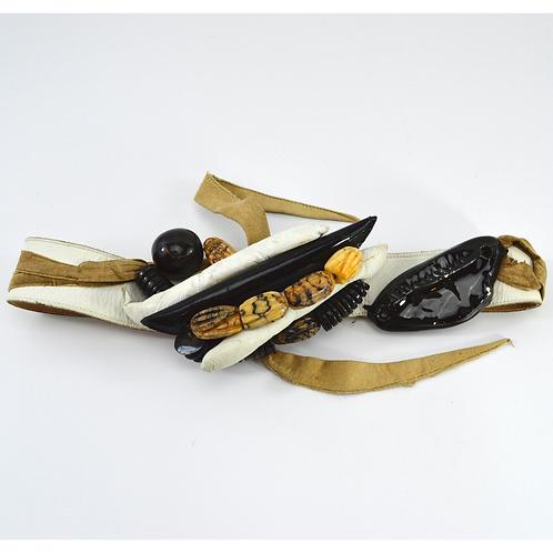 Leather *Vintage* Tie Belt #170-438