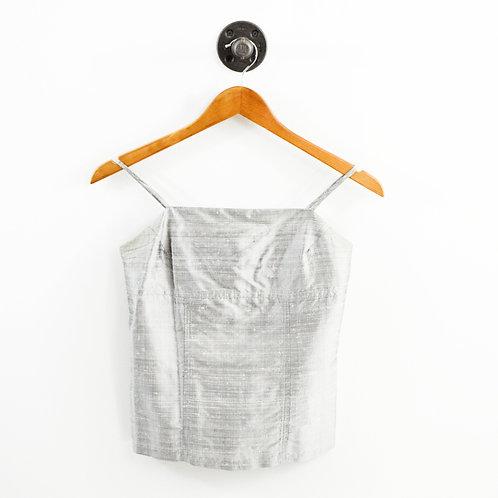 MW 90s Vintage Silk Top #195-17