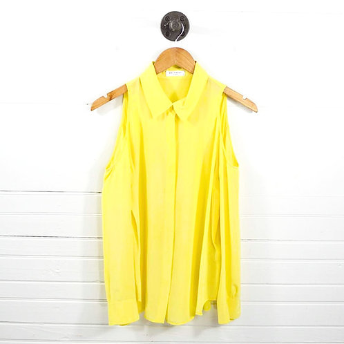 Equipment Cold Shoulder Button Down Top #186-16