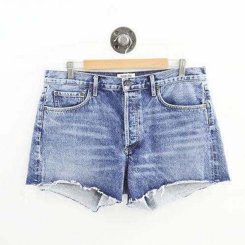 Agolde Denim Cut Off Shorts #187-93