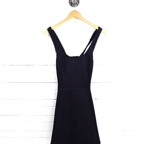 Club Monaco Quilted Cut Out Back Dress #177-1648