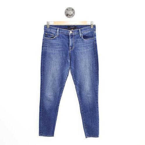 J Brand Capri Blue Code Skinny Jean #143-115