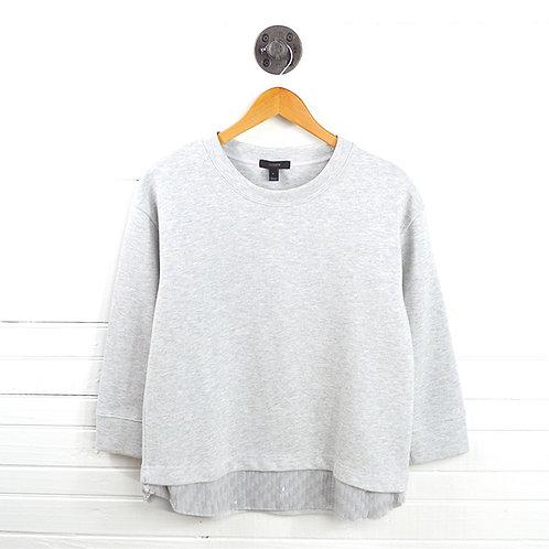 J. Crew Sequin Hem Sweatshirt #123-3045