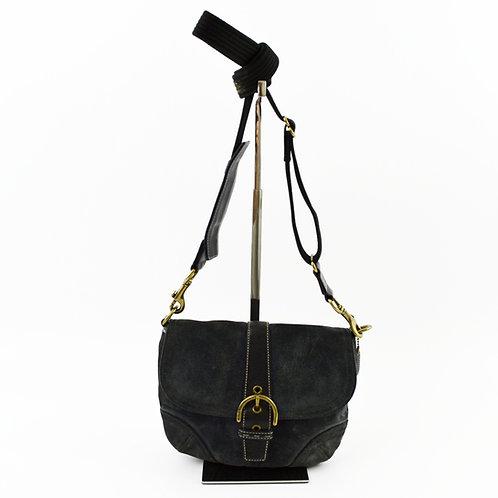 Coach Leather Cross Body Bag #195-3