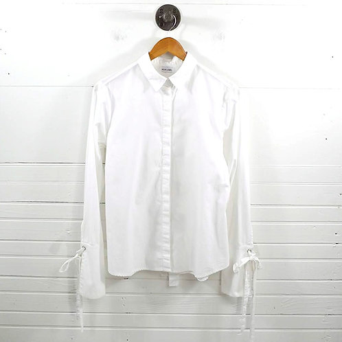 Mlm Label Button Down Blouse #185-28