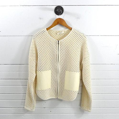 ́eron Leather Pocket Jacket #170-371