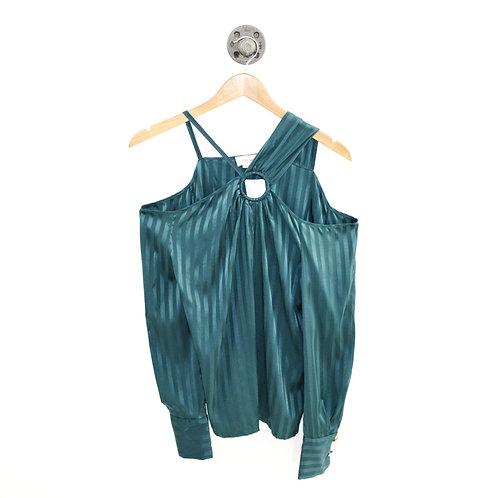 Yigal Azrouël Striped Silk Blouse #143-104