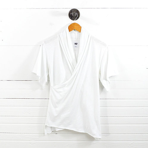Nsf Wrap Front T-Shirt #159-7