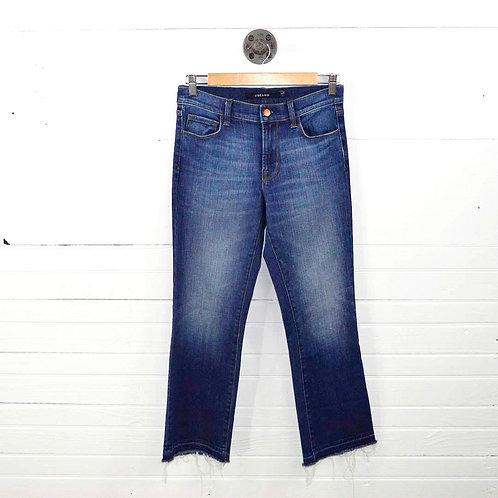 J Brand Raw Hem Crop Jeans #138-4
