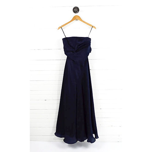 Jackie Rodgers Strapless Silk Gown #174-2