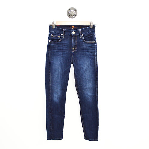 7 For All Mankind Kimmy Crop Jean #195-23