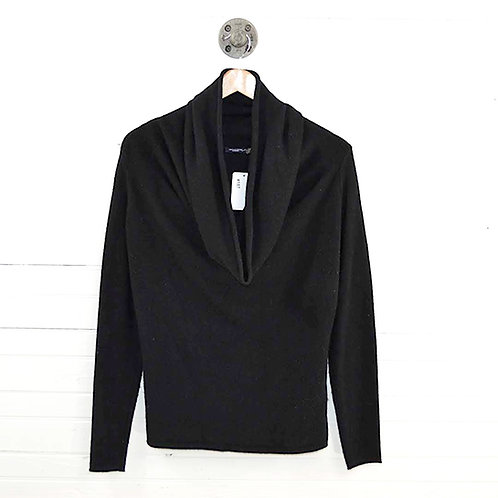 Magaschoni Cashmere Cowl Neck Sweater #187-43