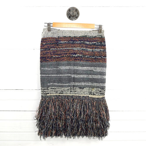 Cecilia Prado Metallic Knit Skirt #185-62