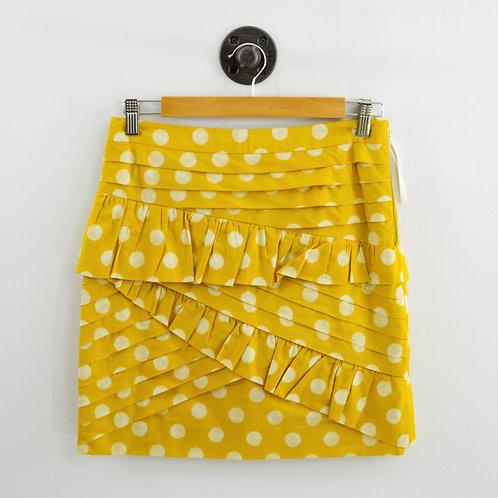 Leifsdottir Polka Dot Layered Mini Skirt #135-116