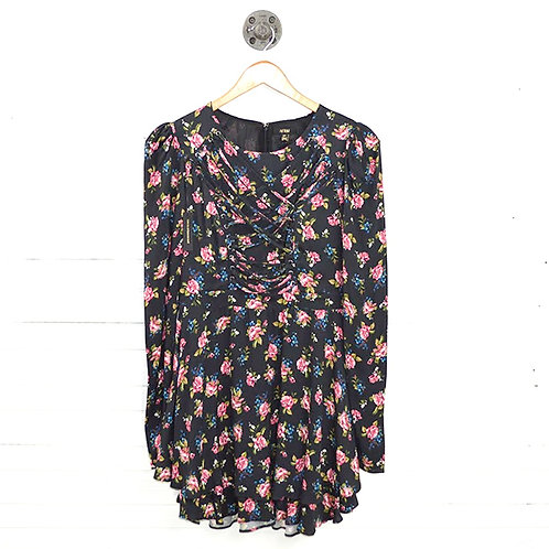 Afrm Floral Long Sleeve Dress #137-1732