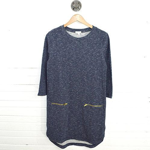 Gap Knit Zipper Dress #123-3056