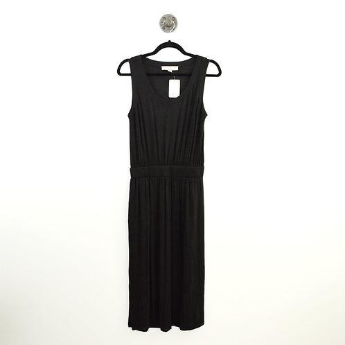 Loft Elastic Waist Band Midi Dress  #123-1072