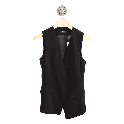 Theory Zulaia ADM Crepe Vest #135-151
