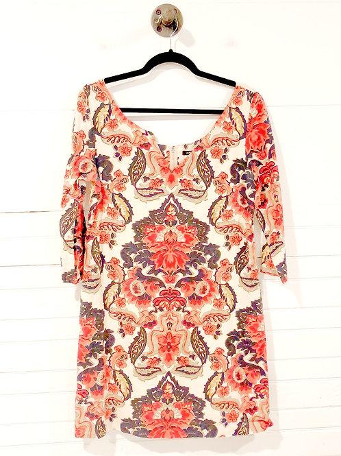 J.Crew Print Linen Dress w/ Pockets #151-1335