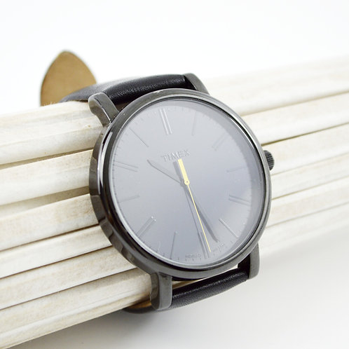 Timex Leather Watch #175-29