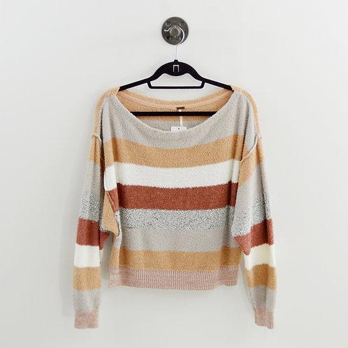 Free People Striped Sweater #194-3039