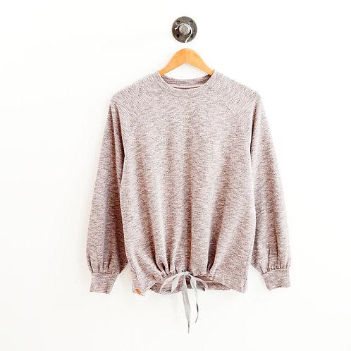 Lou & Grey Drawstring Hem Pullover #123-373