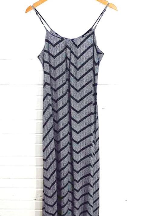 Merona Print Maxi Dress #123-1007