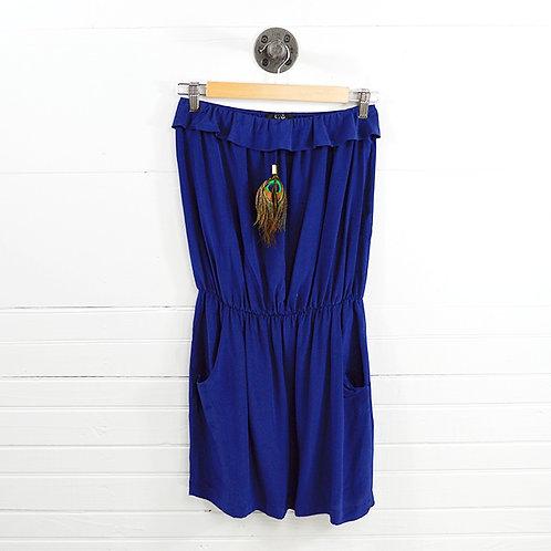 Karina Grimaldi Silk Strapless Dress #131-211
