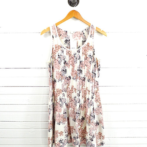 Club Monaco Floral Silk Print Dress #177-1638