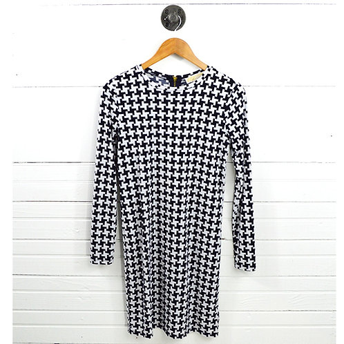 Michael Kors Houndstooth Print Jersey Dress #150-3100